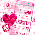 Red Heart Love Launcher Theme 💞 icon