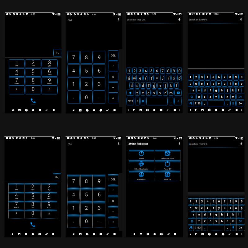 BigBlu Substratum Theme Screenshot 3