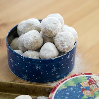 Walnut Snowball Cookies.