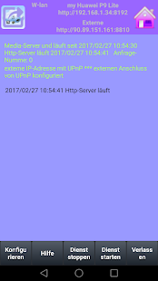 eXport-it, UPnP Client/Server Screenshot