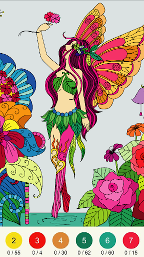 Wonder Color - Color by Number Free Coloring Book screenshots 19