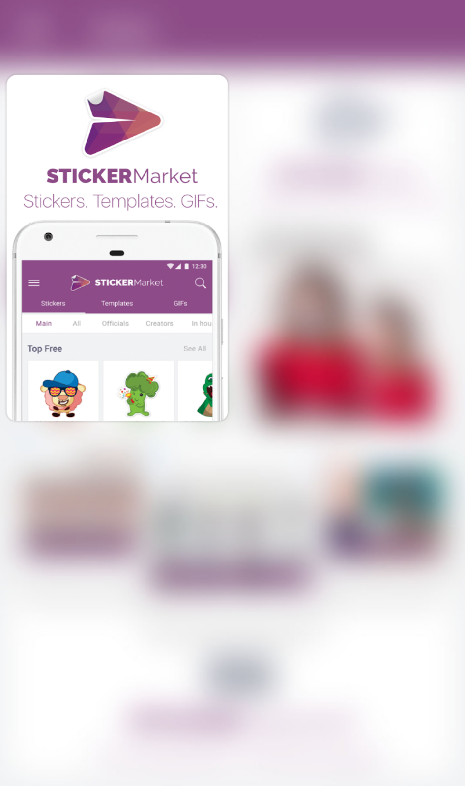 Sticker Market Best Free Sticker App For Android