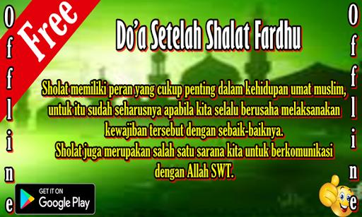 Do'a Setelah Shalat Fardhu