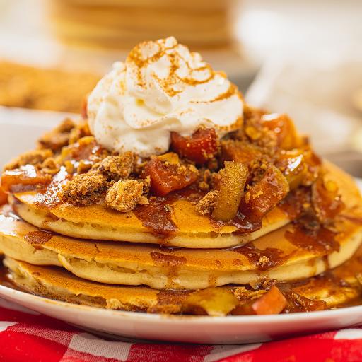 3 Apple Crumble Pancake