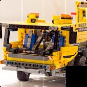 Slide Puzzle Lego Technic