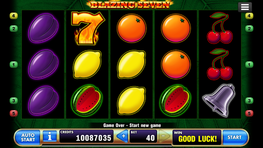 Blazing Seven Slot