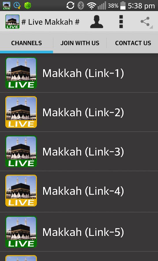 Watch Live Makkah 24 Hours HD- screenshot
