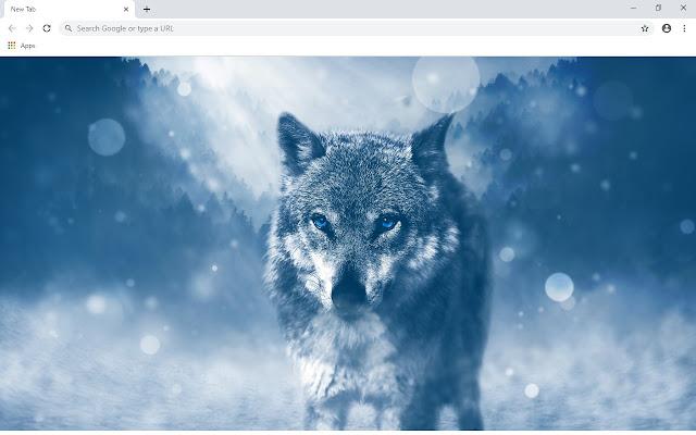 Wolf 2020 Custom New Tab