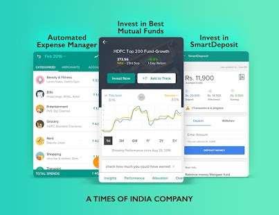 Expense Manager & Investments in Mutual Funds- screenshot thumbnail