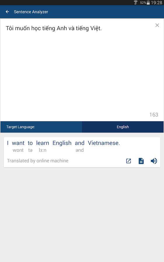 English to Vietnamese Translation - ImTranslator.net