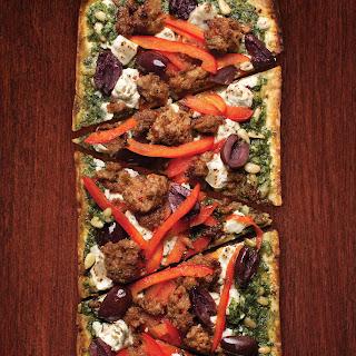 Sausage and Pesto Pizza Recipe