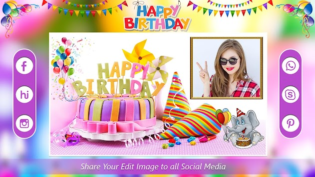 Download Birthday Card Photo Frames Apk Latest Version App For