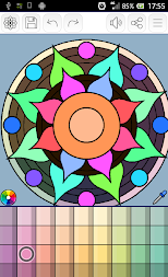 Mandalas coloring pages (+200 free templates) APK screenshot thumbnail 15