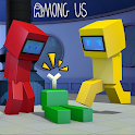 Addon Among Us [Mod + Skins 4D] for Minecraft PE icon
