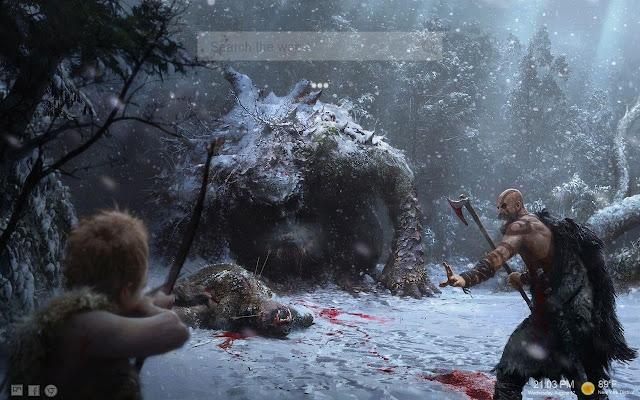 God of War 2018 Tab Themes HD
