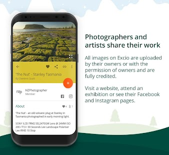 Excio: beautiful images for your phone home screen- screenshot thumbnail