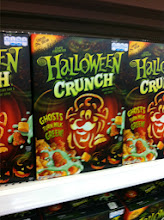 Photo: A little Halloween cereal...I've never seen this before.