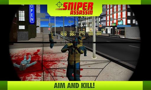Crime City Sniper Assassin 3D