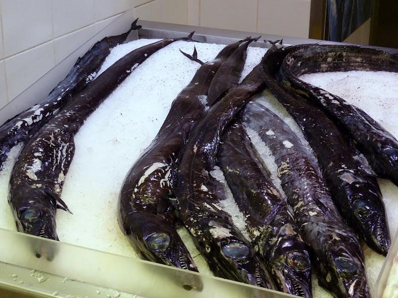 Photo: National fish -  Espada or Black Scabbard fish - is tastier than it looks.