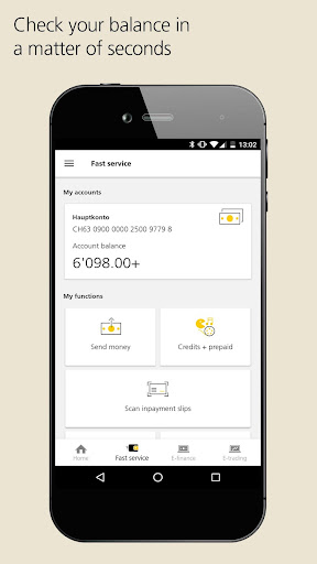 PostFinance Mobile 4.8.1 screenshots {n} 2