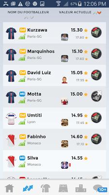 Le Championnat des Etoiles - screenshot