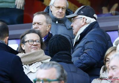 """Roger Vanden Stock critique Marc Coucke: """"Tout de l'ancien Anderlecht devait partir, buiten"""""""