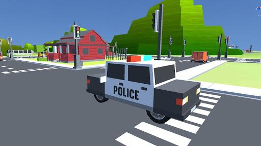 立方体,警方停车场