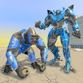 Bigfoot Gorilla Attack: Transforming Robot Monster