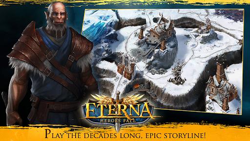 Eterna: Heroes Fall - Deep RPG  captures d'écran 2