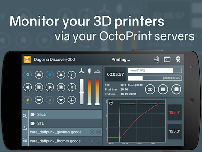 Printoid for OctoPrint [TRIAL]- screenshot thumbnail