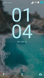 Theme XPERIA ON™ | Be Cyan Lollipop - náhled