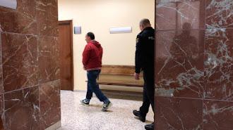 Francisco S. G., este martes en la Audiencia Provincial de Almería.