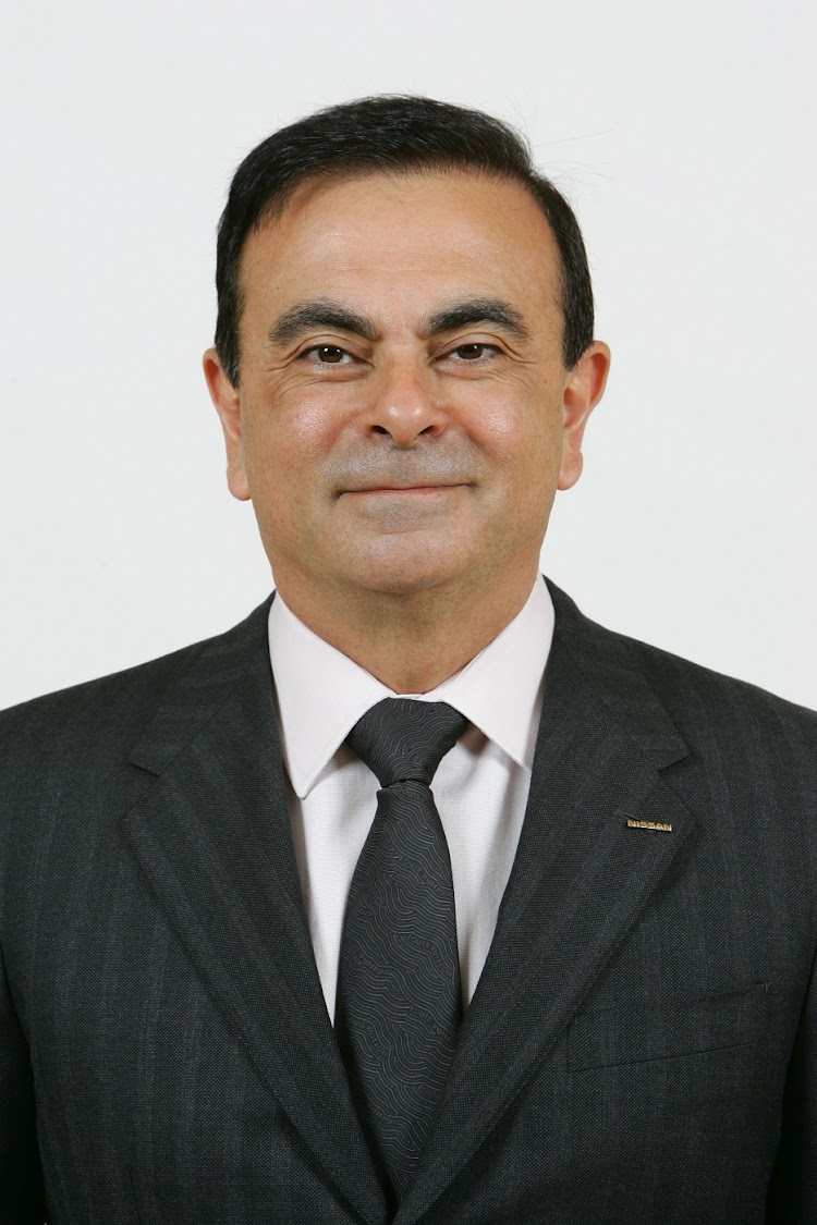 Axed Executive Carlos Ghosn Picture: SUPPLIED