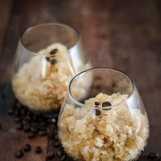 Espresso Martini Granita Recipe