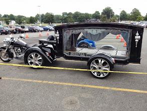 Photo: The Harley Hearse