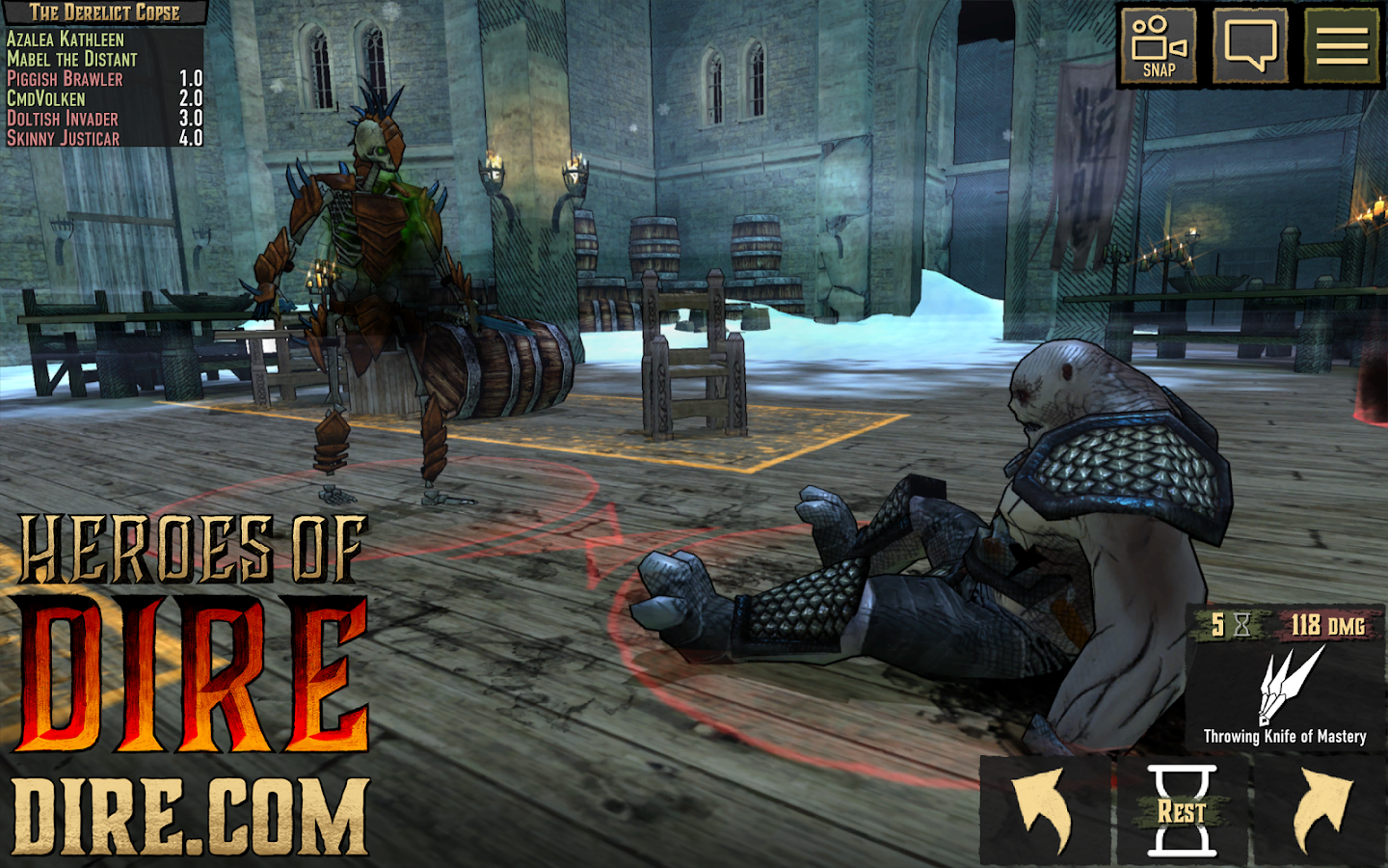 Heroes Of Dire- screenshot