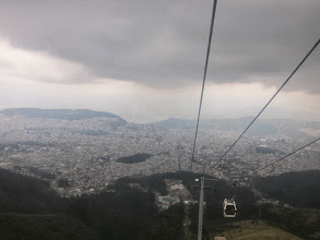 Photo: Quito from the TeleferiQo cable car
