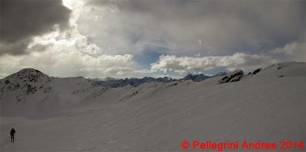 Photo: Panorama 6 e salendo verso cima Forzellina appare il gruppo Adamello Brenta