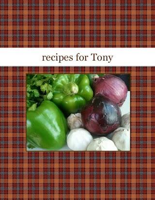 recipes for Tony