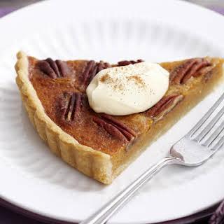 Sweet Potato and Pecan Pie.