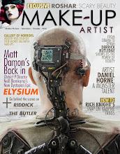 Photo: Cover for Make-Up Artist magazine #104