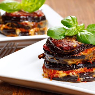 Baked Eggplant No Bread Crumbs Recipes.