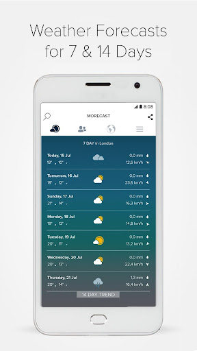 Morecast USA Weather & Radar v3.9.2 [Premium]