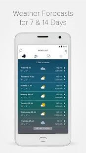 Morecast™ - Weather Forecast with Radar & Widget- screenshot thumbnail