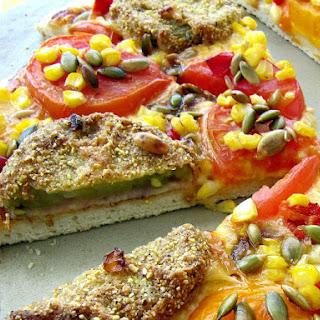 Fried Green Tomato Pizza + Basic Pizza Dough