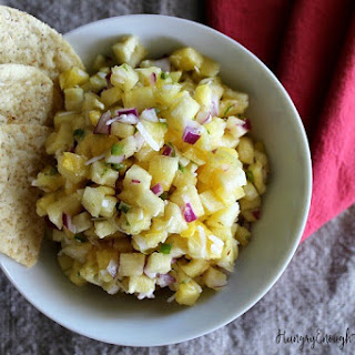 Spicy Island Salsa with Pineapple & Coconut.