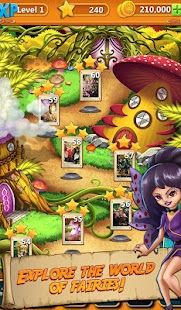 Solitaire Quest: Elven Wonderland Story - náhled