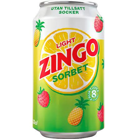 Zingo sorbet light 33cl brk in