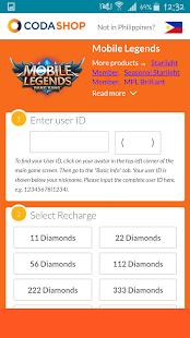 Codashop recharge game credits apk download app screenshots stopboris Choice Image