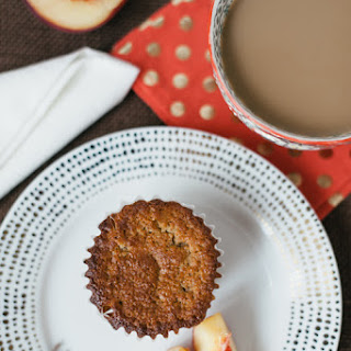 Gluten Free Muffins with Peach and Banana